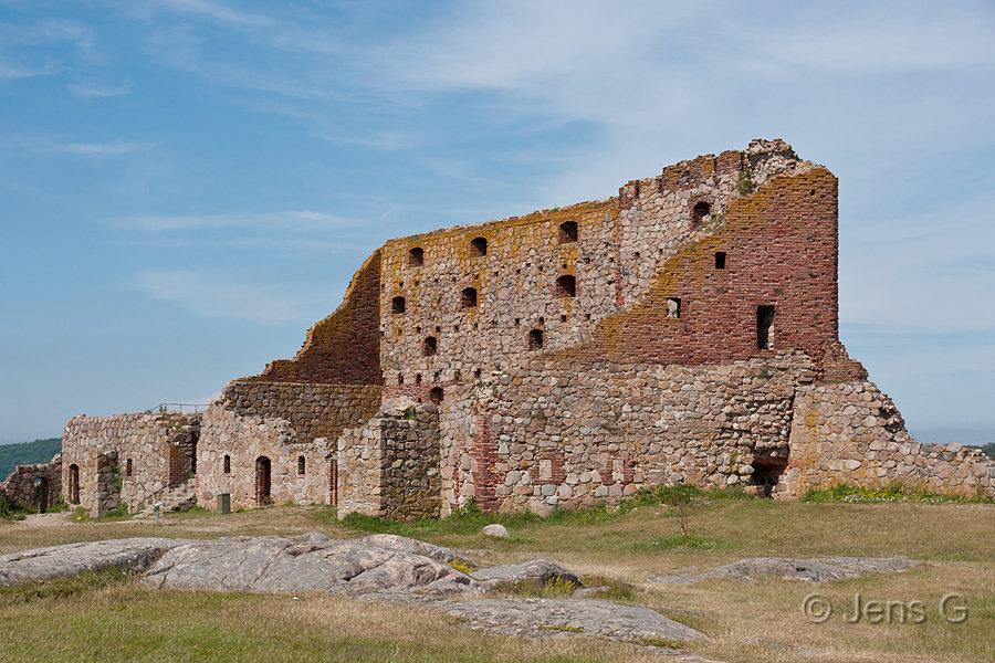 Hammershus ruin