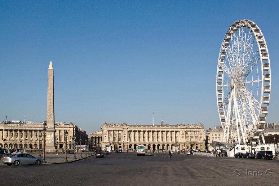 Pariserhjulet på Concorde pladsen