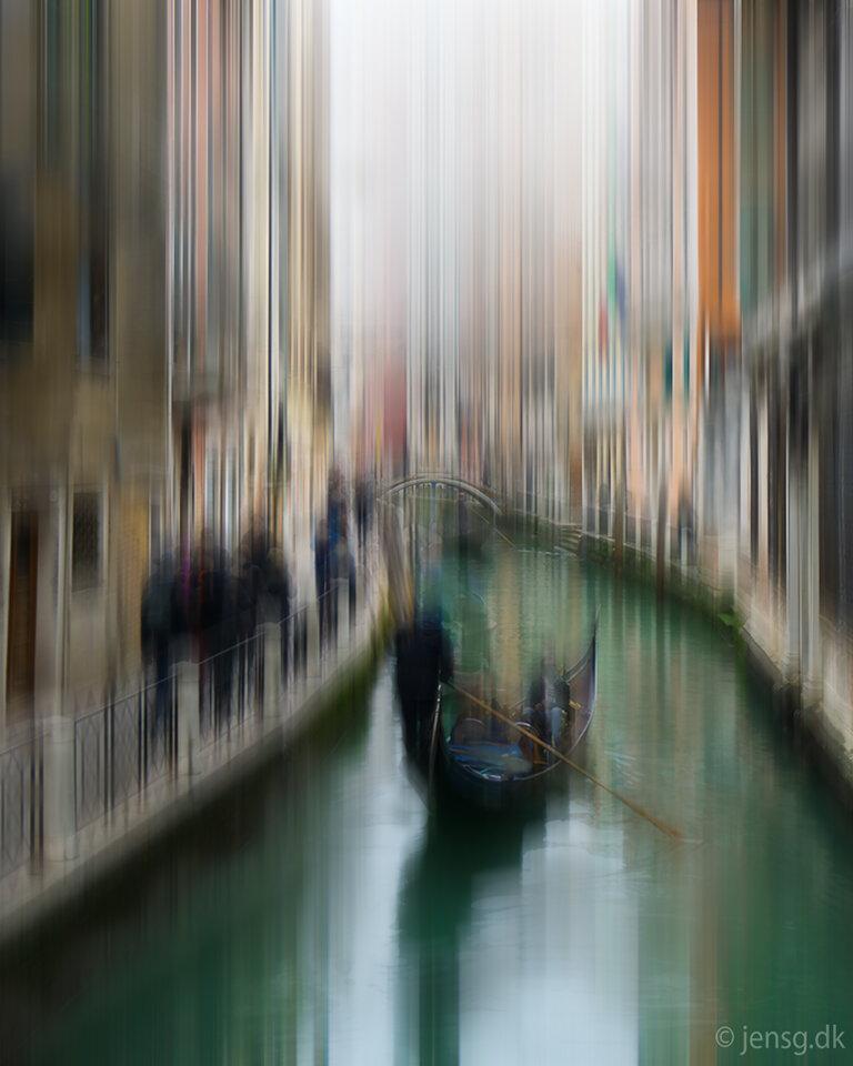 Uskarpt indtryk fra Venedig